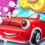 Kid car wash garage