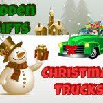 Christmas Trucks Hidden Gifts