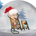 Mr Bean Christmas Stars