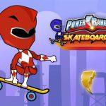 Power Rangers Skateboading