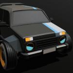 Russian Cyber Car – HexagoN